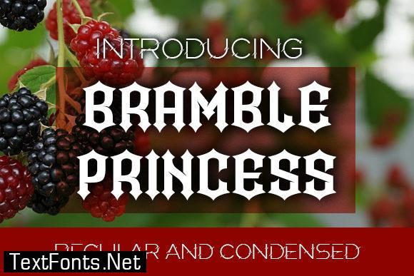 Bramble Princess Font
