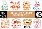 Cat SVG Design Bundle