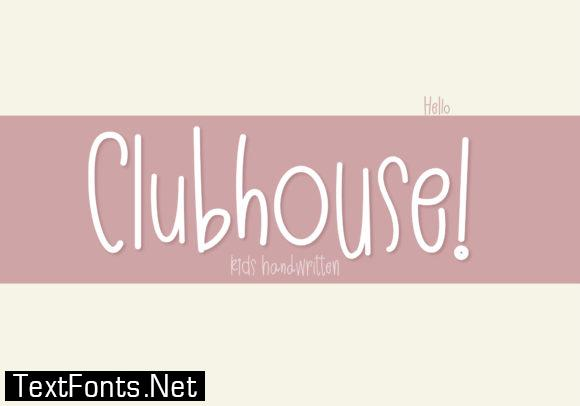 Clubhouse Font