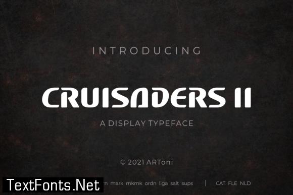 Cruisader II Font