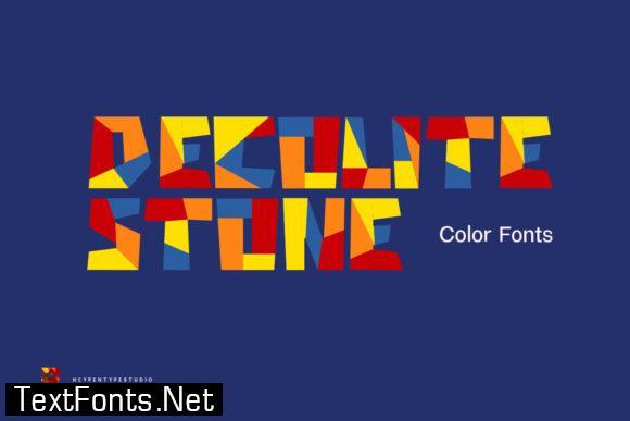 Decolite Stone Font