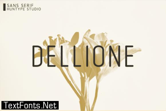 Dellione Font