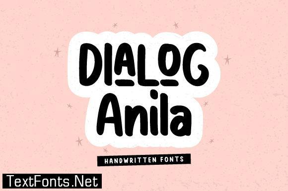 Dialog Anila F font