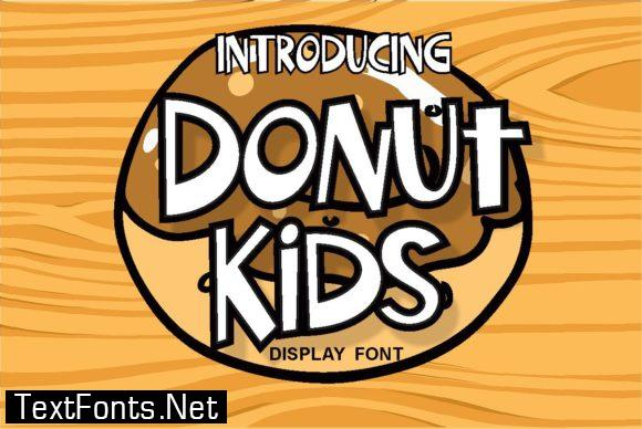 Donut Kids Font