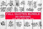 Fall Quotes Bundle