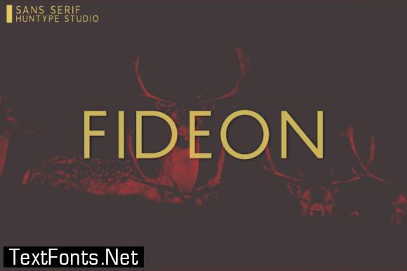 Fideon Font