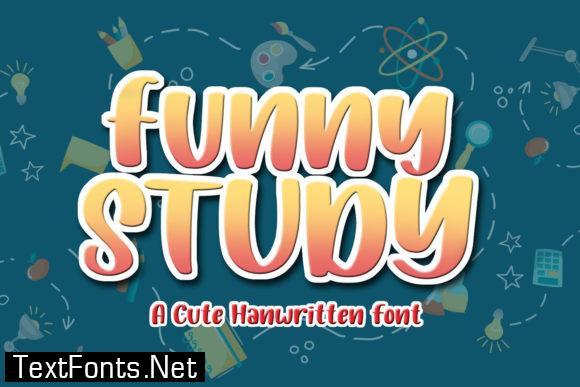 Funny Study Font