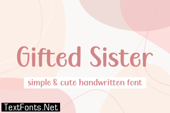 Gifted Sister Font