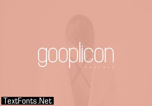 Gooplicon Font