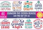 Grandpa SVG Design Bundle