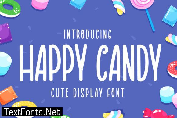 Happy Candy Font