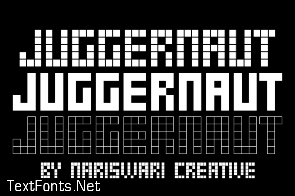 Juggernaut Font