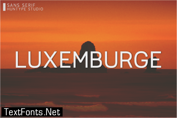 Luxemburge Font