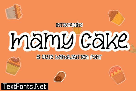 Mamy Cake Font