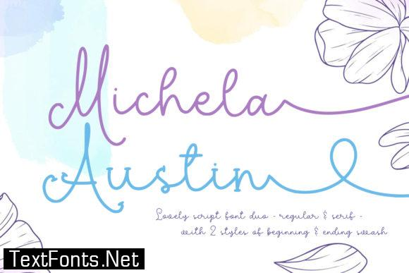 Michela Austin Font