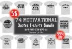 Motivational T-Shirt Design Bundle