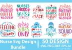 Nurse SVG Design Bundle