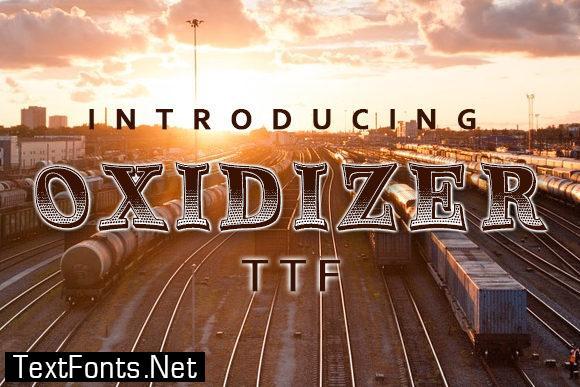 Oxidizer Font