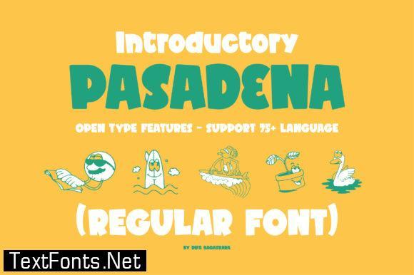 Pasadena Font