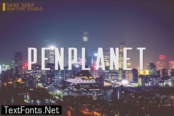 Penplanet Font