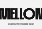 PF Mellon Font Family