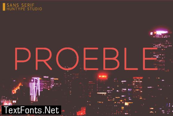 Proeble Font