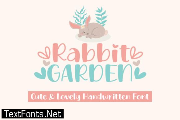 Rabbit Garden Font