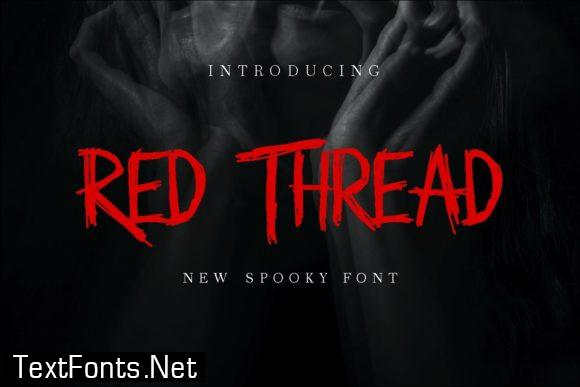 Red Thread Font