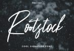 Rootstock - Cool Signature Font