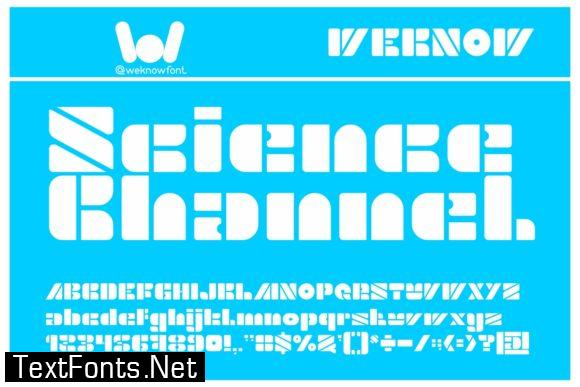 Science Channel Font