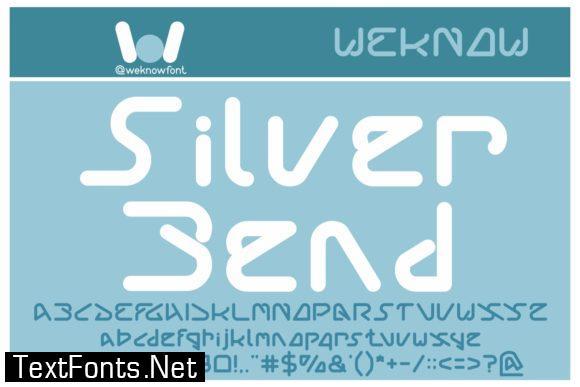 Silver Bend Font