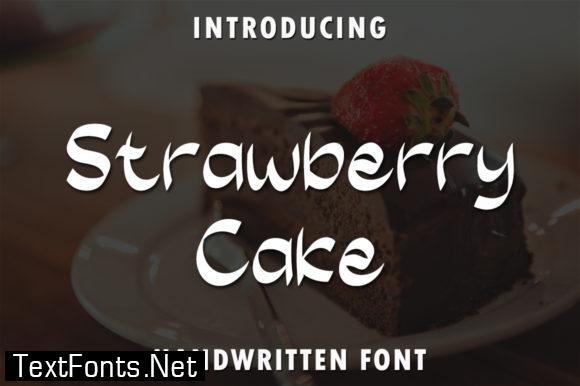 Strawberry Cake Font
