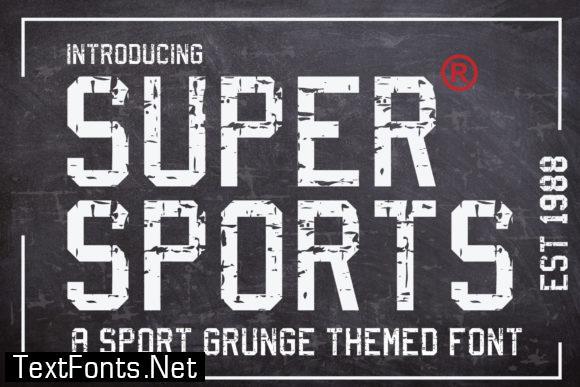 Supersports Font