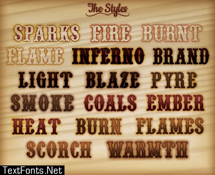 The Photoshop Pyrography Pack