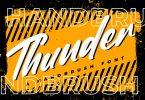Thunder - Brush Font
