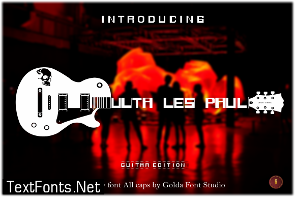 Ultra Less Paul Font