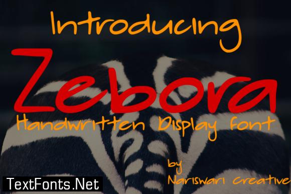 Zebora Font
