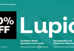 Lupio Font Family