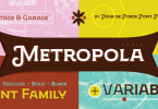 Metropola Font Family