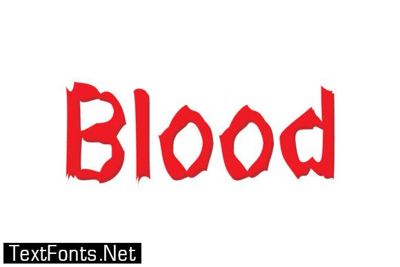 Font vampire Vampire Fonts