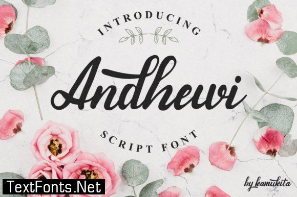 Andhewi Font