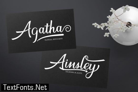Arsylia Font
