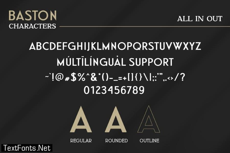 BASTON Business Sans Font