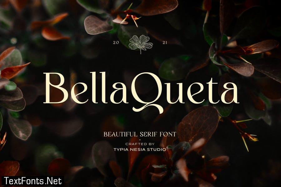 Bella Queta - Beautiful Classic Serif