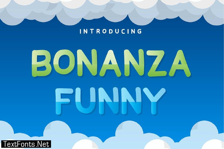 Bonanza Funny Sans