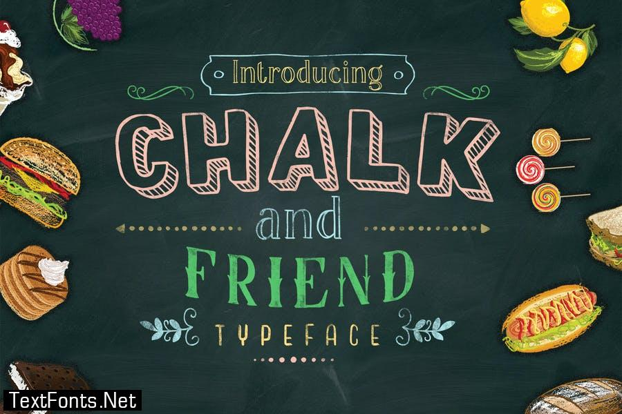 Chalk and Friend