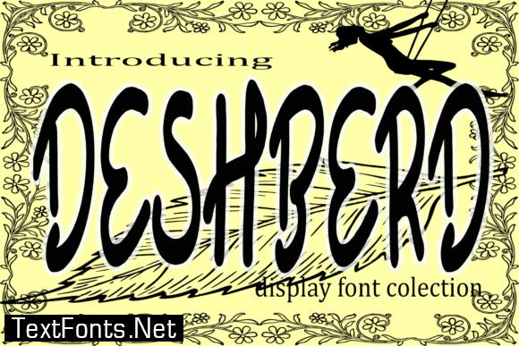 Deshberd Font