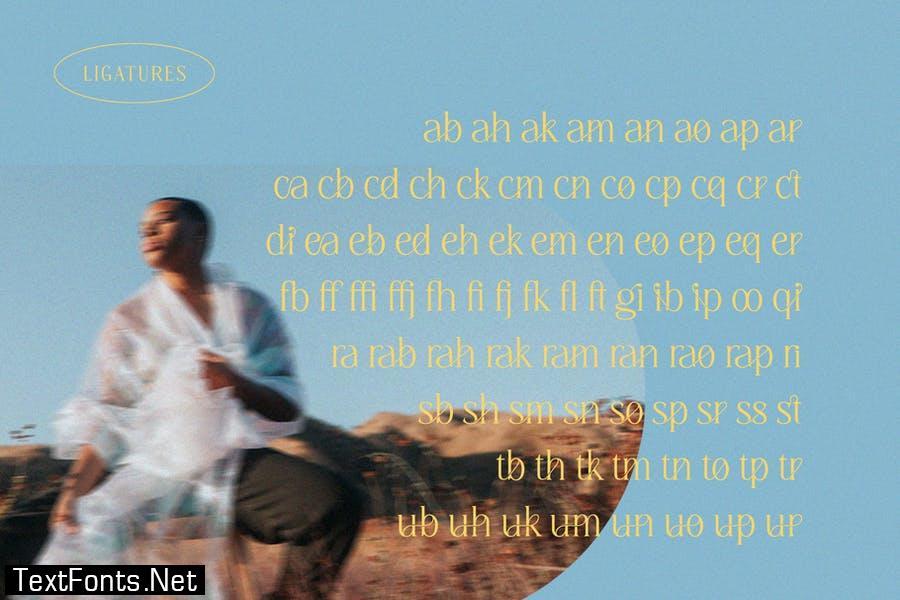 Diranista - Stylish Ligature Serif