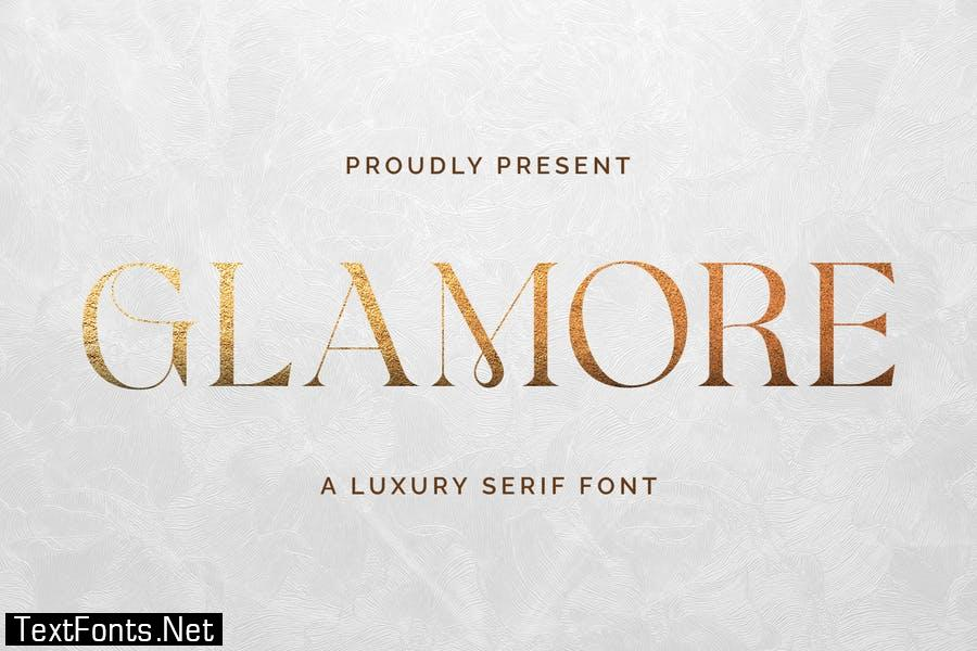 Glamore - Luxury Display Serif