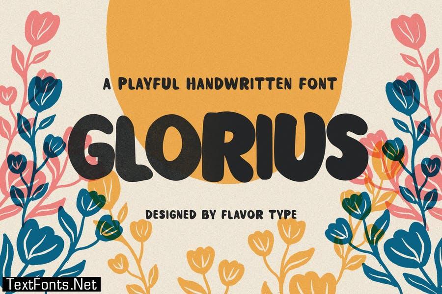 Glorius Font